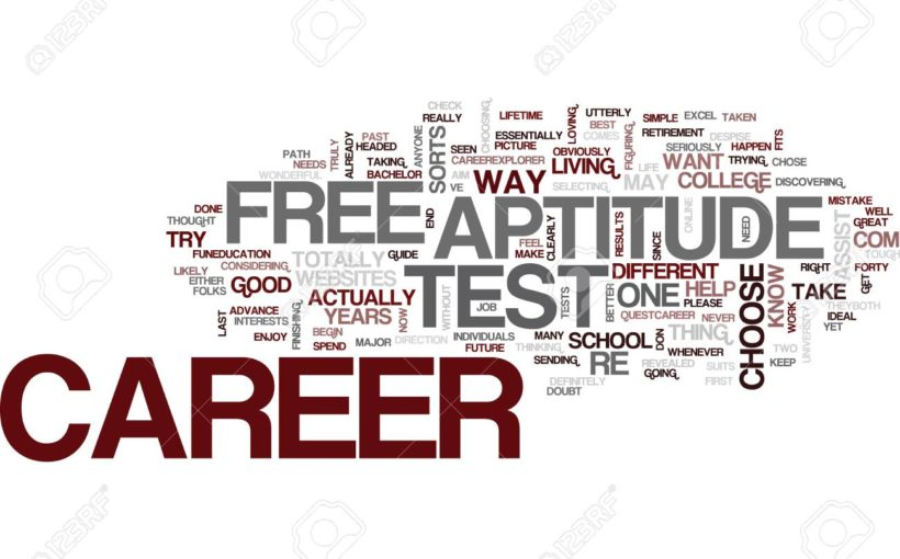 Take A Free Career Test - First Step To A Successful Career